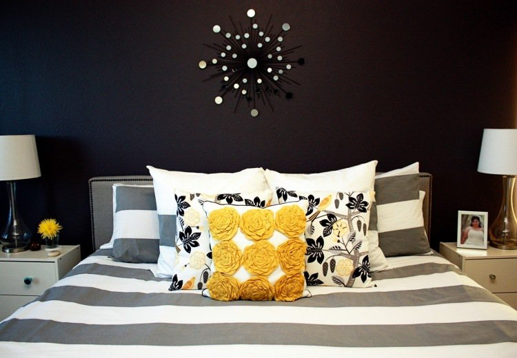 deco chambre peinture murale. Black Bedroom Furniture Sets. Home Design Ideas