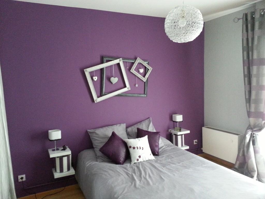 Deco chambre prune et gris - Deco chambre prune ...