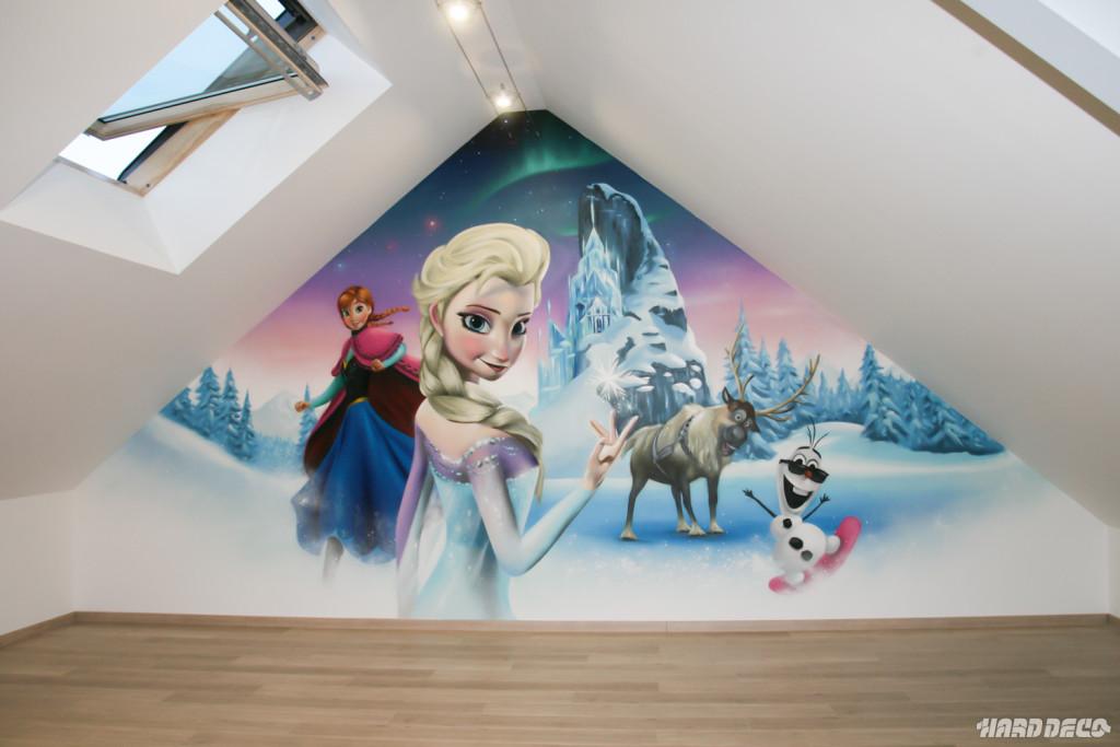 deco chambre reine des neiges
