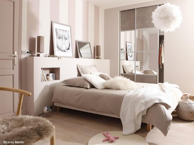deco chambre rose poudre - visuel #7