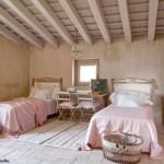 deco chambre rose poudre