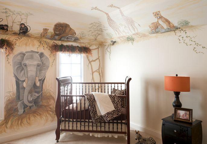 deco chambre garcon safari