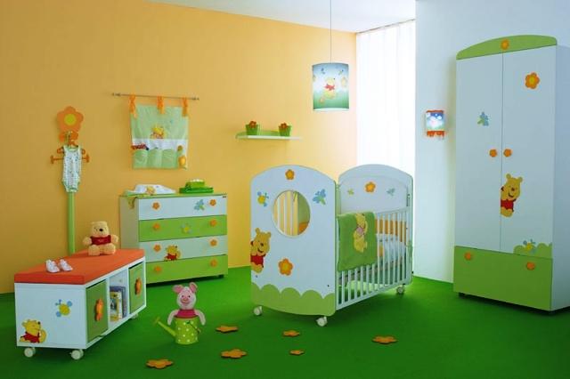 decoration chambre winnie l\'ourson
