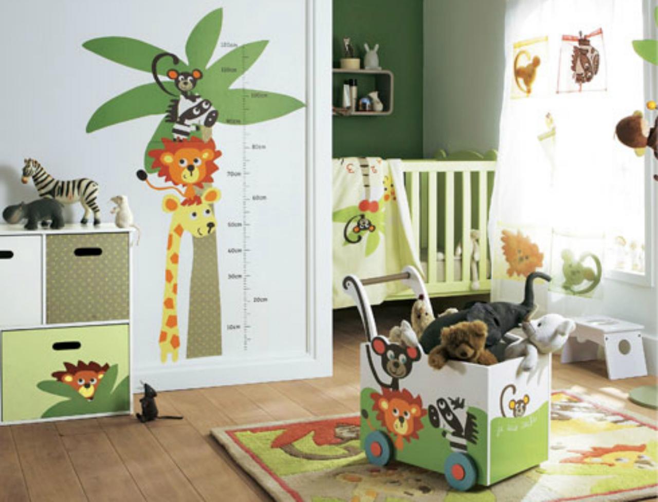 deco jungle pour bebe. Black Bedroom Furniture Sets. Home Design Ideas