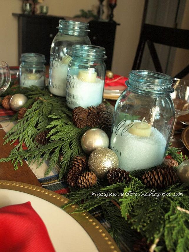 Deco noel a faire soi meme youtube visuel 7 - Centre de table de noel a faire soi meme ...