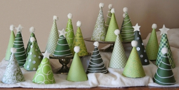Deco noel sapin faire soi meme - Decoration de noel de table a faire soi meme ...