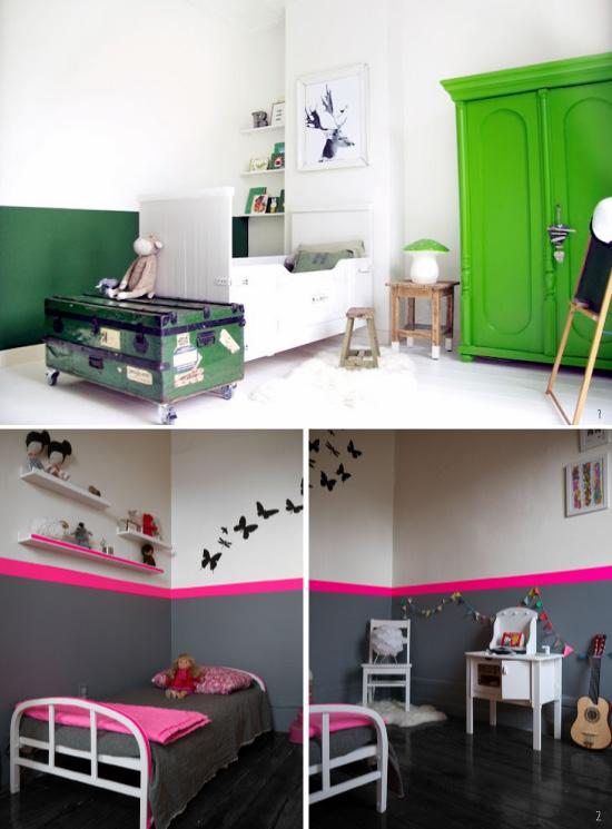 D co chambre 2 couleurs - 2 couleurs dans une chambre ...