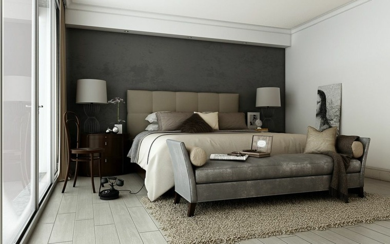 decoration chambre adulte taupe visuel 7. Black Bedroom Furniture Sets. Home Design Ideas