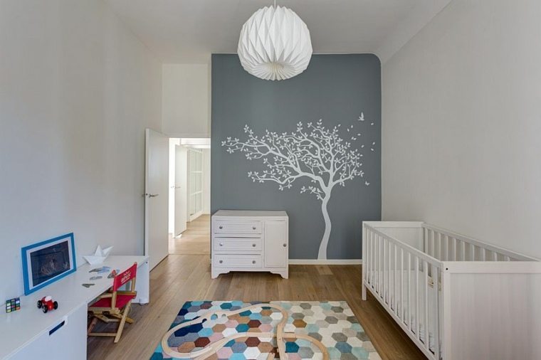 Decoration chambre bebe design for Decoration chambre de bebe fille
