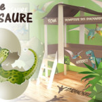 decoration chambre bebe dinosaure
