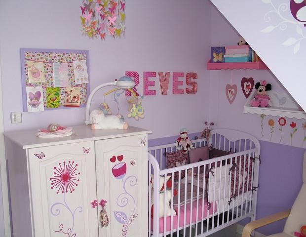 decoration chambre bebe e fille. Black Bedroom Furniture Sets. Home Design Ideas