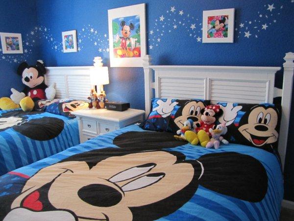 decoration chambre bebe mickey visuel 3. Black Bedroom Furniture Sets. Home Design Ideas