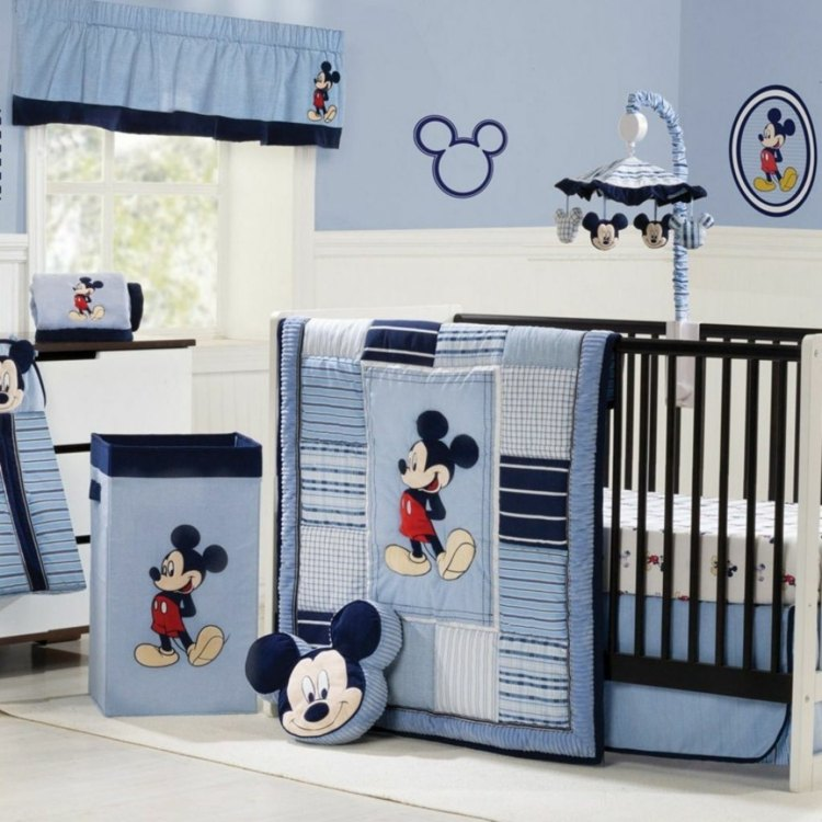 Decoration chambre bebe mickey visuel 5 - Decoration mickey chambre ...