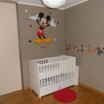decoration chambre bebe mickey