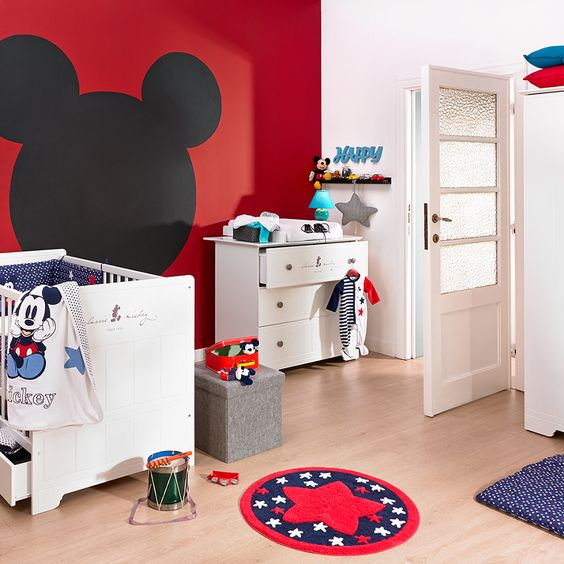 Decoration chambre bebe mickey visuel 8 - Decoration mickey chambre ...