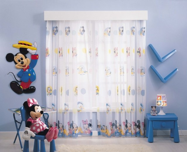 Decoration chambre bebe mickey - Decoration mickey chambre ...