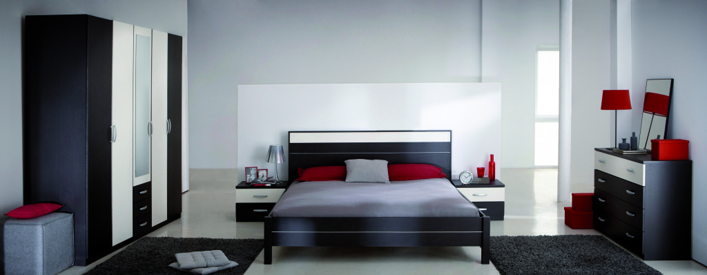decoration chambre coucher moderne visuel 7. Black Bedroom Furniture Sets. Home Design Ideas