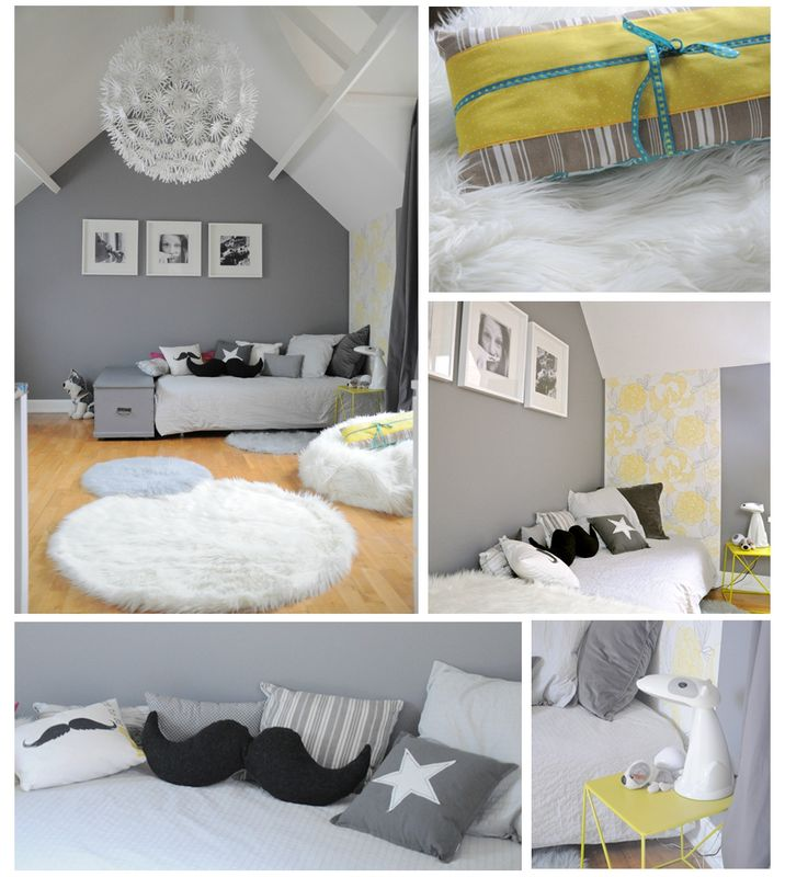 Decoration interieur chambre fille for Decoration interieur chambre