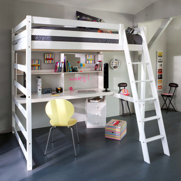 chambre mezzanine fille trendy lit mezzanine avec bureau pour fille with chambre mezzanine. Black Bedroom Furniture Sets. Home Design Ideas