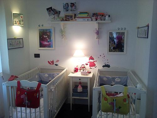 decoration chambre jumeaux mixte - visuel #6