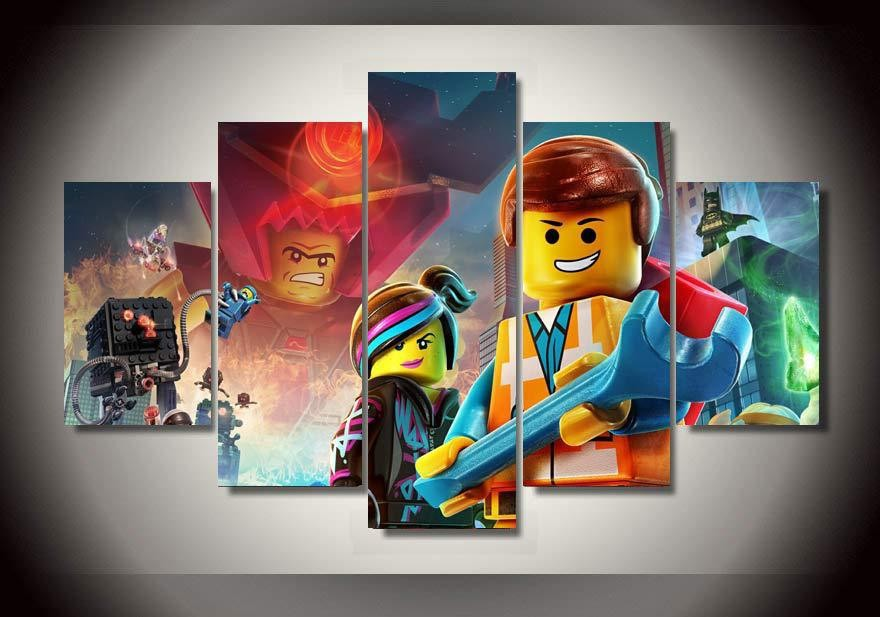 Decoration chambre lego ninjago - Lego wandtattoo ...