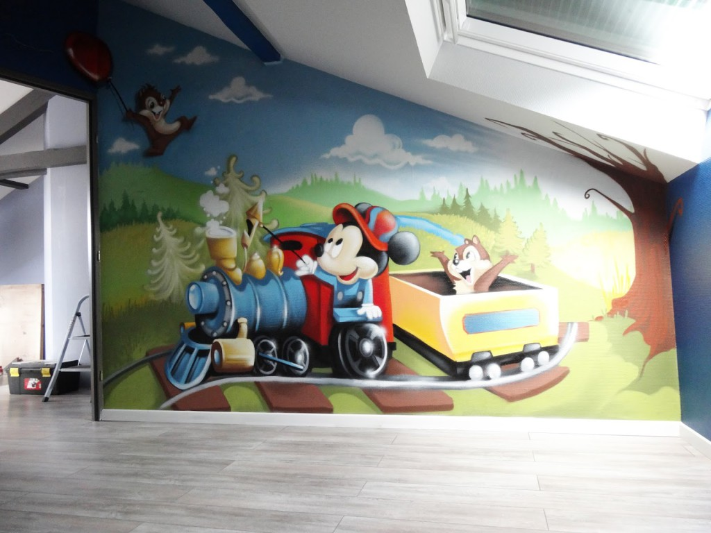 Decoration Chambre Mickey Visuel 8