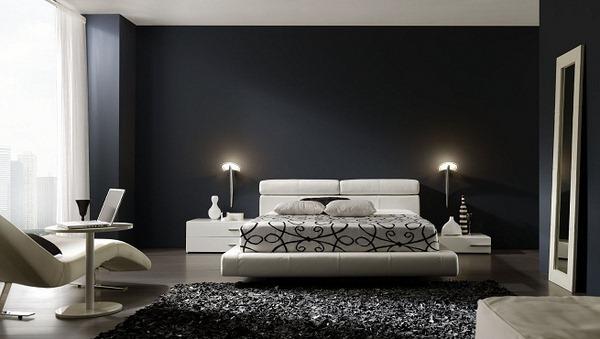 Decoration Chambre Noir Et Blanc U2013 Visuel #8. «