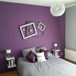 decoration chambre parme