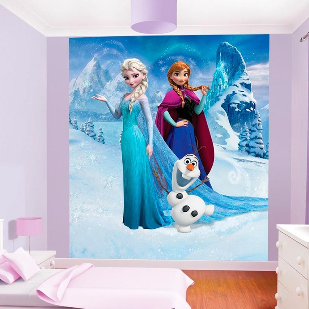 decoration chambre reine des neiges. Black Bedroom Furniture Sets. Home Design Ideas