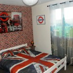 decoration chambre theme londres