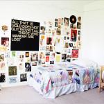 chambre vintage ado