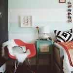 decoration chambre vintage ado