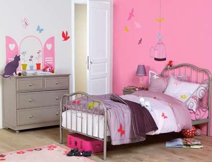 decoration chambres petite fille - visuel #5