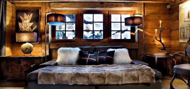 decoration de chambre a coucher champetre