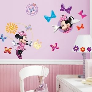 deco chambre bebe fille minnie. Black Bedroom Furniture Sets. Home Design Ideas