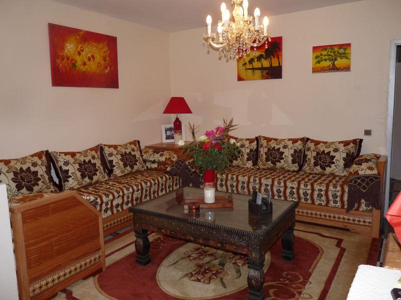 Decoration marocaine pour chambre sejour visuel 3 for Modele decoration sejour