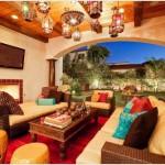 decoration marocaine pour chambre sejour