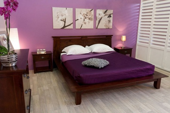 chambre a coucher zen pour adulte avec des. Black Bedroom Furniture Sets. Home Design Ideas