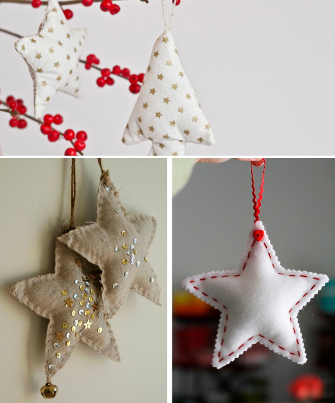 Faire decoration de noel en feutrine - Decoration de noel a faire ...