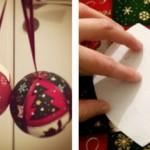 faire decoration de noel en tissu