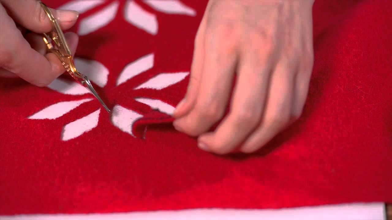 Faire decoration de noel en tissu for Deco de noel en tissu