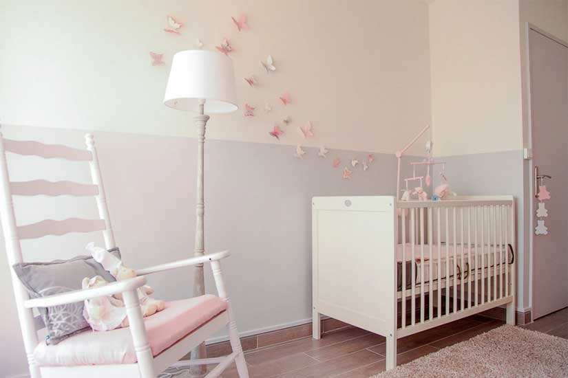 idee deco chambre bebe fille pas cher visuel 2. Black Bedroom Furniture Sets. Home Design Ideas