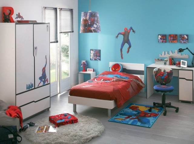 Emejing Idee Deco Chambre Garcon 3 Ans Photos - House ...