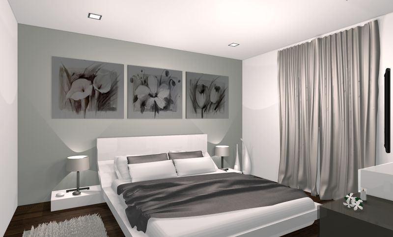 Idee decoration chambre parentale meilleures images d for Exemple de decoration de chambre