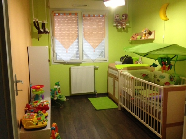 D co chambre jungle - Chambre jungle enfant ...