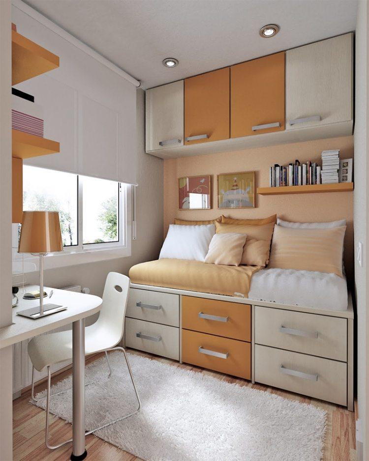 Idee rangement chambre petite visuel 5 for Rangement petite chambre