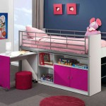 lit avec bureau pour fille