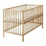 lit bebe barreaux bois