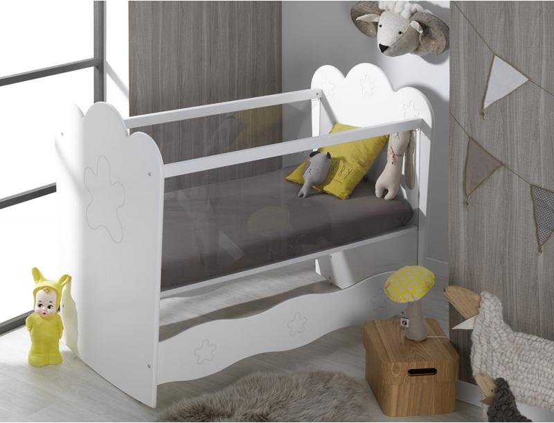 lit bebe sans barreaux plexiglas. Black Bedroom Furniture Sets. Home Design Ideas