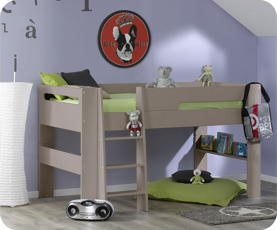 lit enfant en hauteur best lit mi hauteur garcon lit. Black Bedroom Furniture Sets. Home Design Ideas